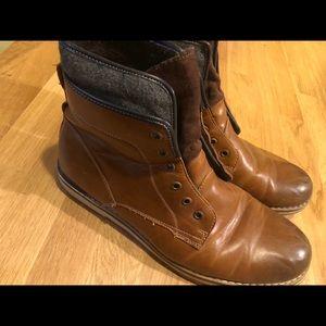 Mens Sonoma Findlay Tan Boots Size 12
